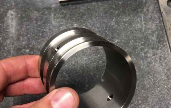 We've been busy lately. Here's a purge collar for a scientific instrument compan